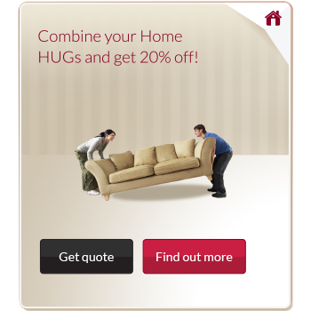 Home insurance advert from the platform